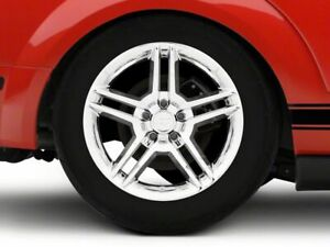 American Muscle 2010 Gt500 Style Wheel In Chrome 18x9 Fits Mustang 2005 2009
