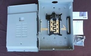 Murray 100 Amp 12 Spaces 24 Circuit Outdoor Main Breaker Load Center Lw1224b1100