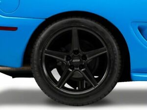 American Muscle Saleen Rear Wheel In Black 18x10 Fits All Ford Mustang 1994 1998