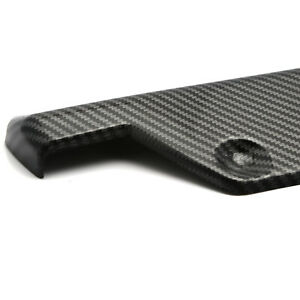 For Honda Civic Carbon Fiber Style Rear Bumper Splitter Diffuser Canard Spoiler