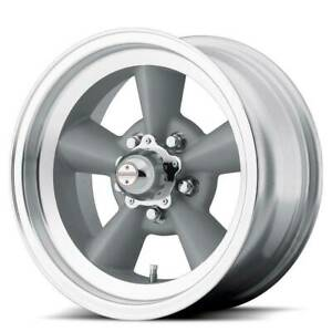 17x7 17x8 American Racing Vn309 Tt O 5x5 5 5x139 7 0 0 Silver Wheels Rims Set 4