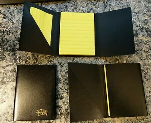 3m Mini 3 x4 Post it Portable Note Holder Case Booklet Lot Of Three 3