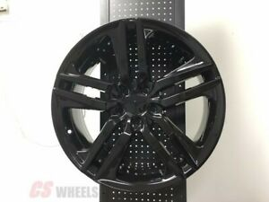18 Gloss Black Alloy Wheels Sport Style Fits Honda Accord Sport Civic Si Exl