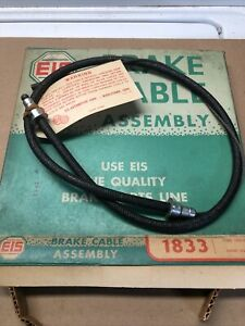 1952 Through 1954 Ford Convertible Hand Brake Lever Cable In Box 1833
