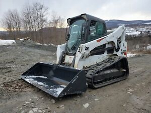 2017 Bobcat T770 Track Skid Steer High Flow Two Speed Ready To Work We Finance