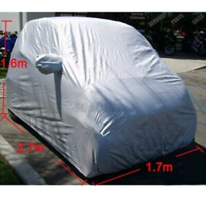 For Benz Smart Fortwo Large Car Auto Body Film Rain Waterproof Cover Shield Bag