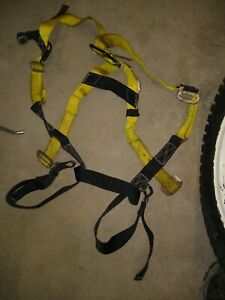 Guardian Fall Protection Harness 01101 Used