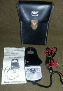 Vintage Sperry Snap 5 Clamp On Around Volt Ohm Ammeter W Case Instructions