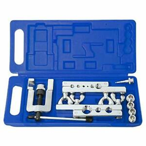 Flaring Tool Kit 45 Degree Tubing 1 8 To 3 4 Swage Tool For Soft Copper Tube