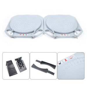 Wheel Alignment Turn Plates Turntables plates W ramp Magnesium Alloy 360 6 8kg