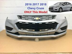 2016 2017 2018 Chevy Cruze Front Bumper switchblade Silver Color 30