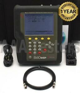 Trilithic 860 Dspi 1ghz Multi function Cable Analyzer Catv Meter 860dsp