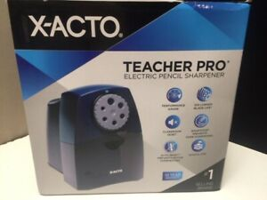 X acto Teacher Pro Electric Pencil Sharpener Model 1675