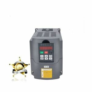 Vfd 110v Input 1 5kw 2hp Variable Frequency Drive Cnc Drive Inverter Converte