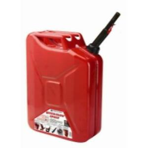 Midwest Can 5810 Auto shutoff Jerry Can 5 Gallon Metal Gas Container