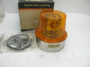 Nos Federal Mogul 7 61004 Amber Rotating Light Assy Dietz 7 61