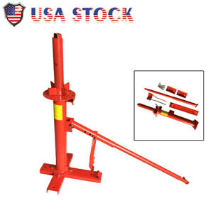 Portable Manual Tire Changer Tire Bead Breaker Tool Home Shop Hand Changer