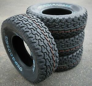 4 New Firestone Radial Atx Lt 31x10 50r15 Load C 6 Ply At A t All Terrain Tires