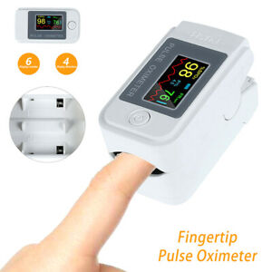 Fingertip Pulse Oximeter Blood Oxygen Saturation Spo2 Finger Pr Monitor Us Stock