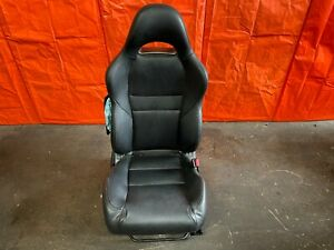 05 06 Acura Rsx Type S Base Passenger Right Front Seat Black Leather Oem 029