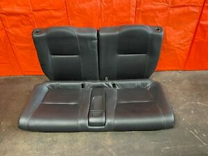 05 06 Acura Rsx Type S Base Complete Rear Leather Seat Set Seats Black Oem