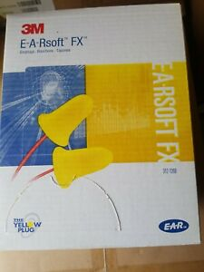 3m Ear Plugs E a rsoft Noise Reduction 33db Yellow 25 Pairs