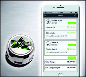 Appweigh Bluetooth Onboard Truck Scale Free App