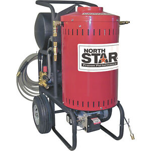 Northstar Electric Wet Steam Hot Water Pressure Washer 1700 Psi 1 5 Gpm 120v