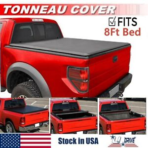 Roll Up Soft Tonneau Cover For 2002 2018 Dodge Ram 1500 8ft 96in Long Bed Cover