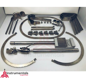 Branded Bookwalter Retractor System Complete Set Stainless Steel