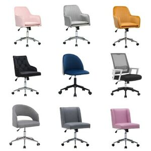 Office Chair Executive Home Computer Desk Seat Task Chair Adjustable Swivel