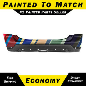 New Painted To Match Rear Bumper Cover Replacement For 2017 2020 Nissan Rogue