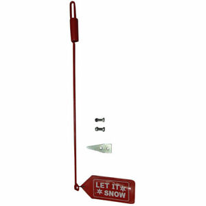 Set Of Snow Plow Blade Markers Guide Sticks W Flags For Western 59700