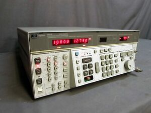 Agilent Branded hp 8662a Synthesized 10khz 1280mhz Signal Generator
