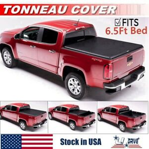 Roll Up For 2007 2013 Chevy Silverado 1500 2500 3500 6 5ft Bed Tonneau Cover
