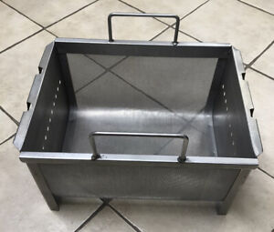 Commercial Kitchen 13 5 X 18 X 9 5 Stainless Steel Deep Fryer Basket