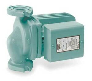 Taco 0011 f4 Hydronic Circulating Pump 1 8 Hp 115v 1 Phase Flange Connection