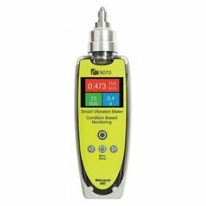 Test Products Intl 9070 Vibration Meter ip67 Rated