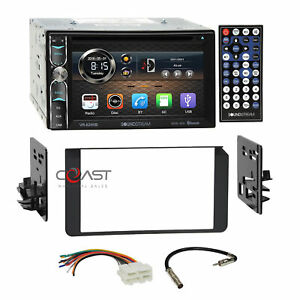 Soundstream Dvd Bt Phonelink Stereo Dash Kit Harness For 95 Gmc Cadillac Chevy