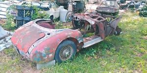 1959 61 Austin Healey Mk I 3000 Bt 7 Rolling Chassis And Body Parts