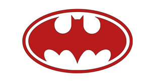 Batman Logo Dark Knight Decal Cut Vinyl Window Truck Car Boat Sticker Comic