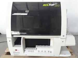 Instrumentation Laboratory Acl Top 300 Cts Hemostasis Testing Coagulation System