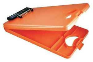 Saunders 00543 8 1 2 X 11 Portable Storage Clipboard 1 Orange
