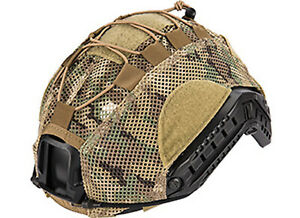 Lancer Tactical Bump Helmet Mesh Cover Multicam Large $18.94
