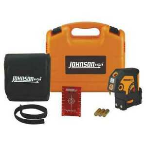 Johnson Level Tool 40 6695 Dot Laser Level single number Of Beams 5
