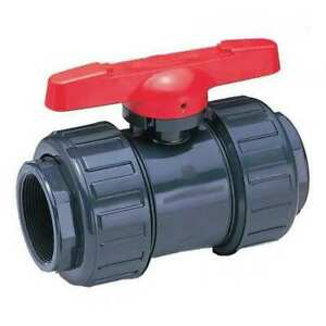 Asahi 111605030 3 Socket Pvc Ball Valve 2 way
