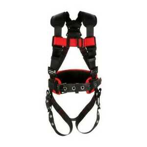 3m Protecta 1161301 Full Body Harness Vest Style Xl Polyester Black