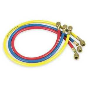 Jb Industries Ccls 60 Manifold Hose Set 60 In red yellow blue