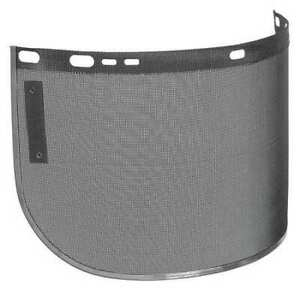 Jackson Safety 29055 Wire Face Shield Mesh 8x15 5x0 02 Reusable Shape C Bound