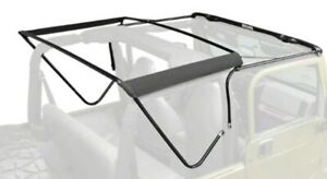 Jeep Wrangler Tj Oem Soft Top Tube Frame W Rugged Ridge Spice Colored Top